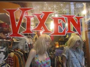 Vixen shop front